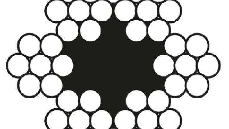 İthal Trol Halatı 6×7 Çelik Halat Lif Özlü-DSR